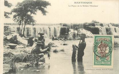 """CPA MARTINIQUE """"La Digue de la Rivière Monsieur"""""""