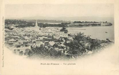 """CPA MARTINIQUE """"Fort de France, vue générale"""""""