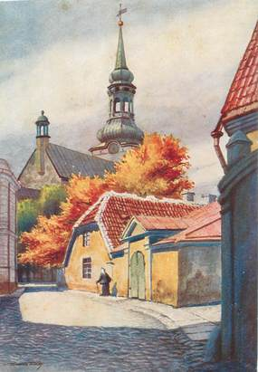 "CPSM ESTONIE ""Eesti, Tallinn"""