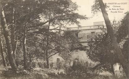 """CPA FRANCE 56 """"Saint Martin sur Oust, chateau du Bois de Haut"""""""