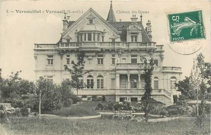 """CPA FRANCE 78 """"Vernouillet Verneuil, Chateau des Groux"""""""