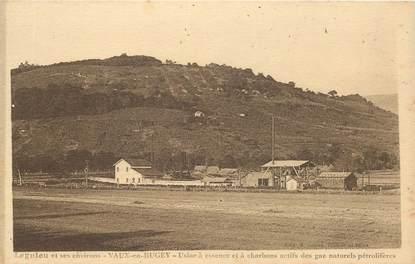 """CPA FRANCE 01 """"Lagnieu et ses environs, Vaux en Bugey, usine à essence et à charbons"""""""
