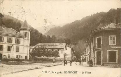 """CPA FRANCE 73 """"Beaufort, la place"""""""