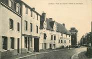 """14 Calvado CPA FRANCE 14 """"Lisieux, rue de Livarot, Hotel du Calvados"""""""