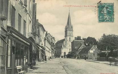 "CPA FRANCE 14 ""Livarot, rue de Falaise"""