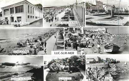 """/ CPSM FRANCE 14 """"Luc sur Mer"""""""