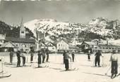 """05 Haute Alpe CPSM FRANCE 05 """"Montgenèvre, skieurs"""""""