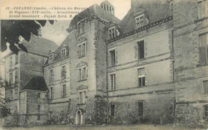 "CPA FRANCE 40 ""Poyanne, chateau des Marquis"""