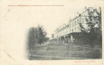 """CPA FRANCE 58 """"Chateau du Réconfort près Montceaux le Comte"""""""