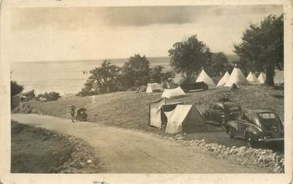 "CPA FRANCE 14 ""Trouville, camping des Roches Noires"""