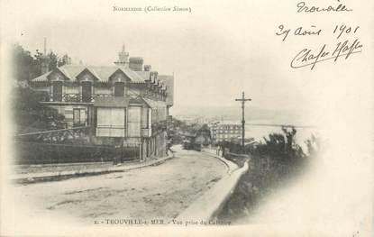 """CPA FRANCE 14 """"Trouville, vue prise du Calvaire"""""""