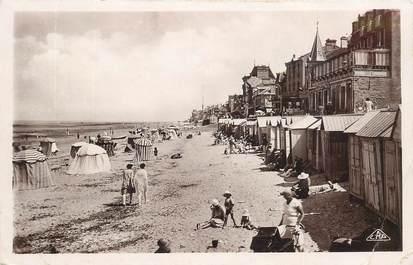 """CPSM FRANCE 14 """"Saint Aubin, la plage"""""""