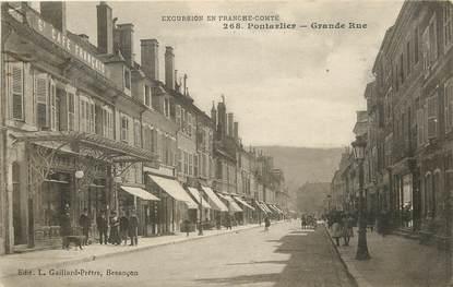 "CPA FRANCE 25 ""Pontarlier, grande rue"""