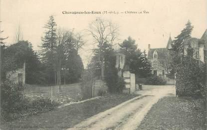 """CPA FRANCE 49 """"Chavagnes les Eaux, Chateau le Vau"""""""