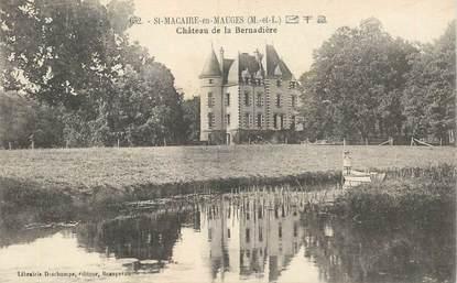 """CPA FRANCE 49 """"Saint Macaire en Mauges, Chateau de la Bernadière"""""""
