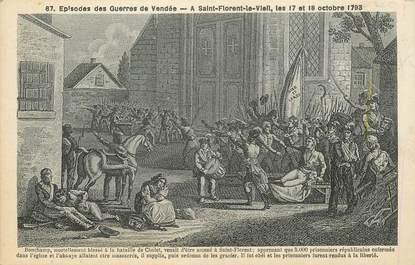 """CPA FRANCE 49 """"Saint Florent le Vieil, 1793"""""""