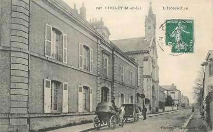 "CPA FRANCE 49 ""Cholet, l'Hotel Dieu"""