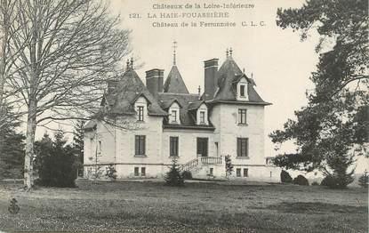 """CPA FRANCE 44 """"La Haie Fouassière, Chateau de la Ferronnière"""""""