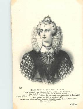 "CPA ROYAUME UNI ""Elisabeth d'Angleterr"" / FAMILLE ROYALE"