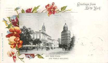 """CPA USA """"New York, City Hall Plaza"""""""