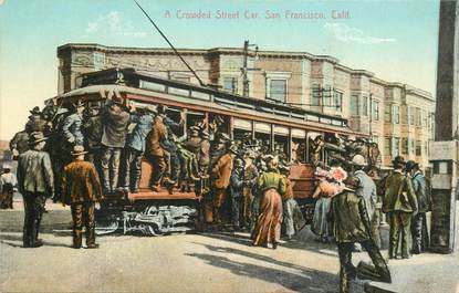 CPA USA / San Francisco, le Tramway