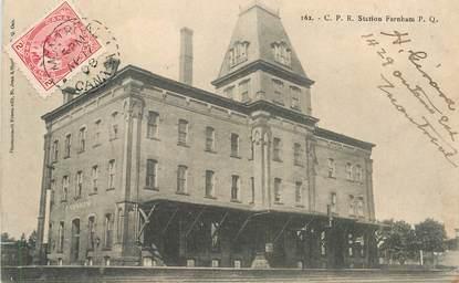 "CPA CANADA ""Quebec, Station Farnham"""