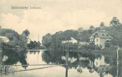 """CPA ALLEMAGNE """"Woltersdorfer Schleuse"""""""