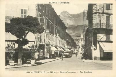 """CPA France 73 """" Albertville, rue Gambetta"""""""