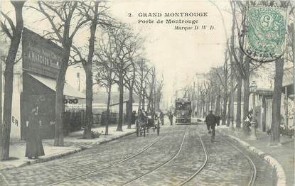 """CPA France 92 """" Montrouge"""""""