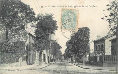 "CPA France 92 "" Clamart, Rue de Paris"""