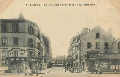 """CPA France 92 """" Levallois Perret, Rue Raspail"""""""