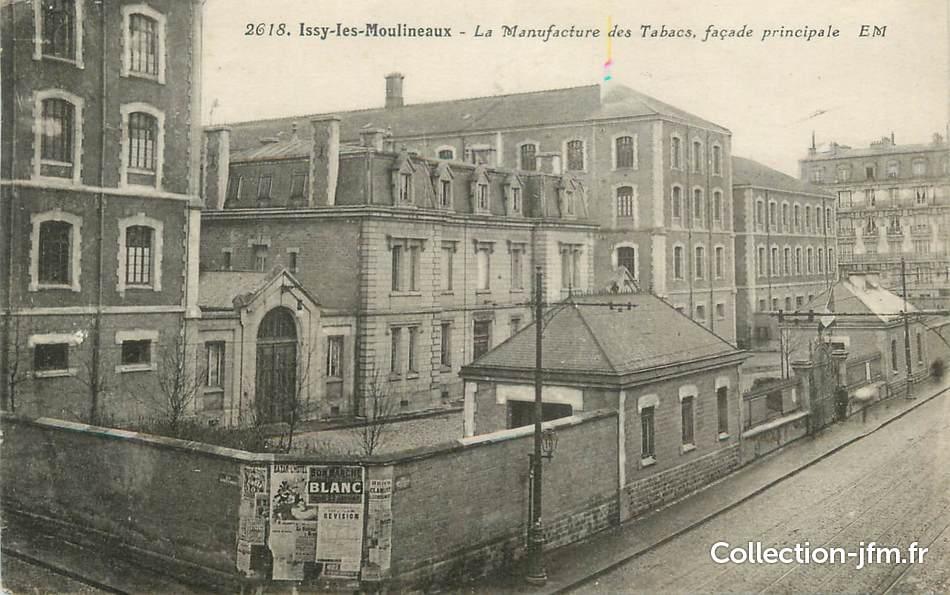 Cpa france 92 issy les moulineaux la manufacture des for 92 haute seine