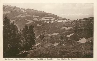 "CPA FRANCE 74 "" Nancy-sur-cluses"""