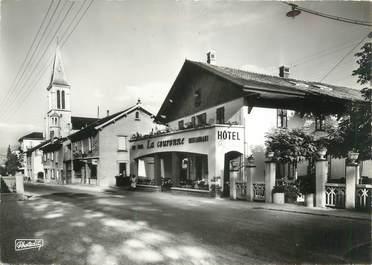 """CPSM FRANCE 74 """" Bons-Saint-Didier, Hôtel La Couronne"""""""