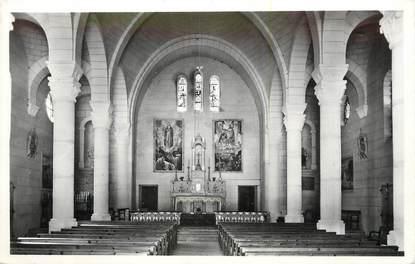 """/ CPSM FRANCE 04 """"Thorame haute, sanctuaire Notre Dame de la Fleur"""""""