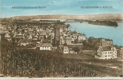 """CPA ALLEMAGNE """"Rudesheim sur le Rhin"""""""