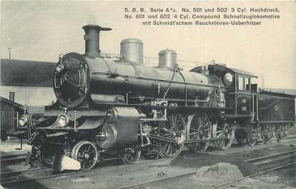 CPA ALLEMAGNE / LOCOMOTIVE TRAIN