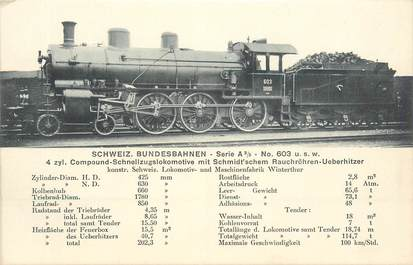 CPA ALLEMAGNE / LOCOMOTIVE TRAIN