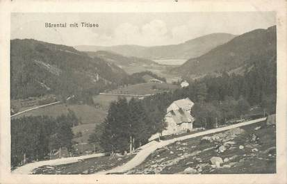 """CPA ALLEMAGNE """"Barental mit Titisee"""""""