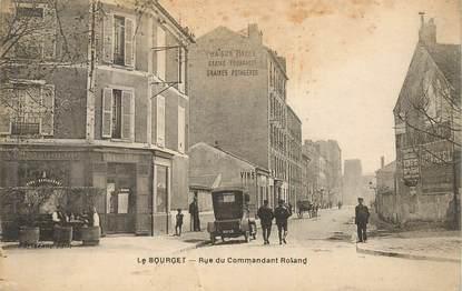 """CPA FRANCE 93 """"Le Bourget, rue du commandant Roland"""""""