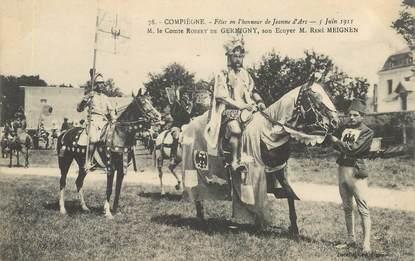 """CPA FRANCE 60 """"Compiègne, Fêtes de Jeanne d'Arc"""""""
