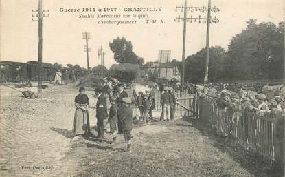 "CPA FRANCE 60 ""Chantilly, marocains sur lme quai d'embarquement"""