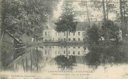 """CPA FRANCE 60 """"Laigneville, Usine Dumoutier"""""""