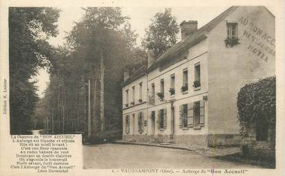 "CPA FRANCE 60 ""Vaudrampont, Auberge du Bon Accueil"""