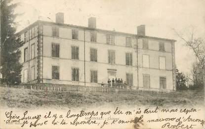 """CPA FRANCE 63 """"Arconsat, le chateau"""""""