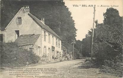 """CPA FRANCE 63 """"Le Mont Dore, Villa Bel Air, avenue Latour"""""""