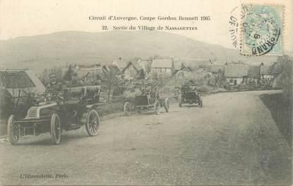 """CPA FRANCE 63 """"Coupe Gordon Bennett 1905, Nassagettes"""""""