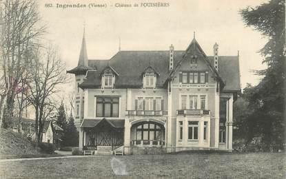 """CPA FRANCE 86 """"Ingrandes, Chateau de Fouinières"""""""