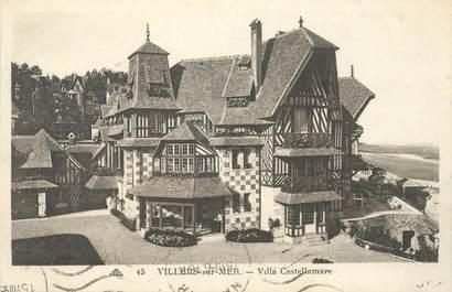 """CPA FRANCE 14 """"Villers sur Mer, Villa Castellamare"""""""