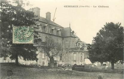 """CPA FRANCE 21 """"Gemeaux, le chateau"""""""